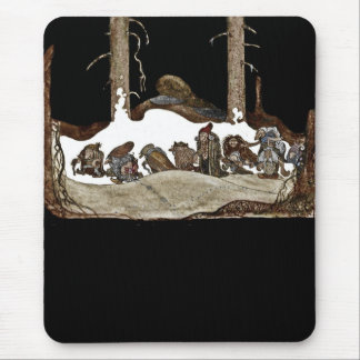 Into the Christmas Night - Mouse Pad