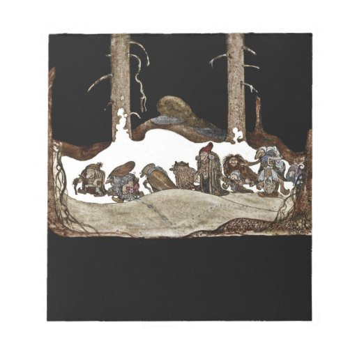 Into the Christmas Night - Memo Notepads