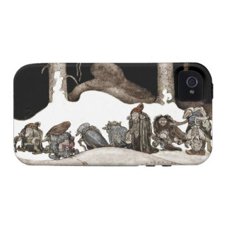 Into the Christmas Night Tomte-Nisse Case-Mate iPhone 4 Case