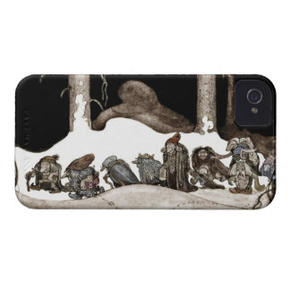 Into the Christmas Night Tomte-Nisse iPhone 4 Covers