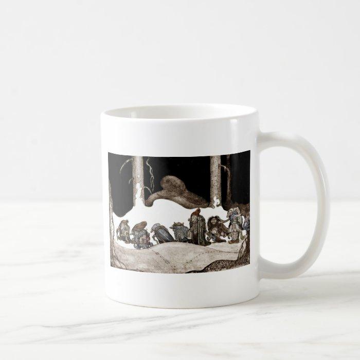 Into the Christmas Night Tomte-Nisse Coffee Mug