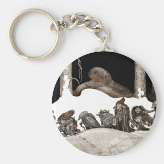 Into the Christmas Night Tomte-Nisse Keychains