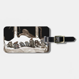 Into the Christmas Night Tomte-Nisse Travel Bag Tags