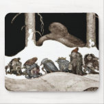 Into the Christmas Night Tomte-Nisse Mouse Pad
