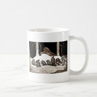 Into the Christmas Night Tomte-Nisse Classic White Coffee Mug