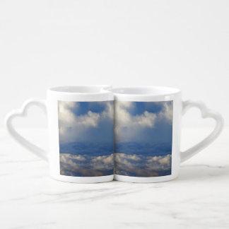 Into The Clouds Couples Coffee Mug
