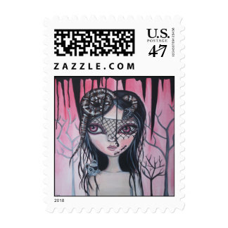 """""""Into The Darkness"""" Postage Stamp!"""