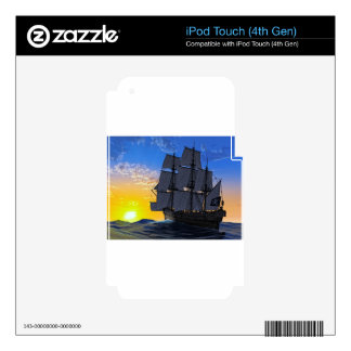 Into the Dawn Skins For iPod Touch 4G
