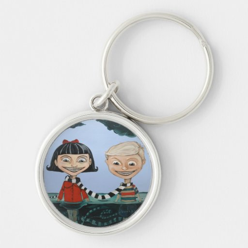 Into the Deep End Keychain