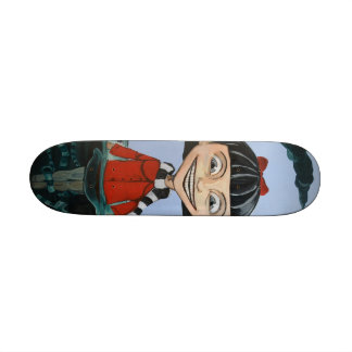 Into the Deep End Skate Deck