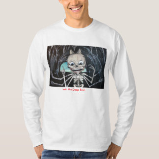Into the Deep End Skeleton Tee