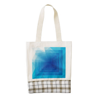 Into the Depths Zazzle HEART Tote Bag