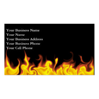 Into the Fire Business Card