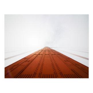 Into the Fog at the Golden Gate Bridge Postcard