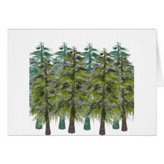 INTO THE FOREST CARD