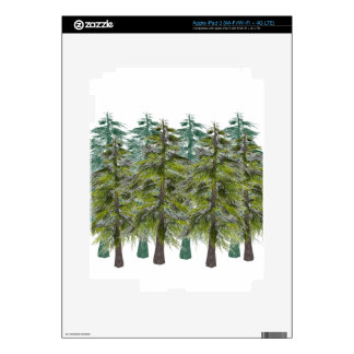 INTO THE FOREST iPad 3 DECALS