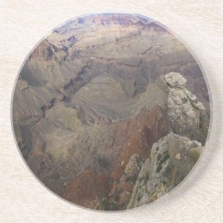 Into the Grand Canyon Beverage Coaster