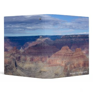 Into the Grand Canyon View 3 Ring Binder