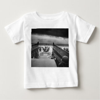 Into The Jaws Of Death LCVP World War II Omaha Baby T-Shirt