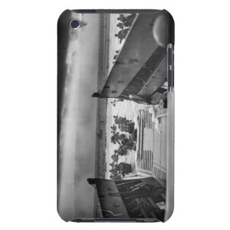 Into The Jaws Of Death LCVP World War II Omaha iPod Touch Cases