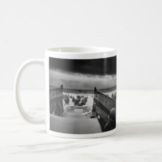 Into The Jaws Of Death LCVP World War II Omaha Coffee Mug