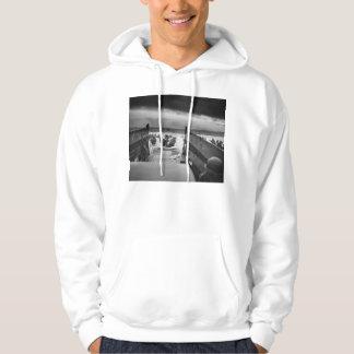 Into The Jaws Of Death LCVP World War II Omaha Hooded Sweatshirt