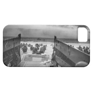Into The Jaws Of Death LCVP World War II Omaha iPhone SE/5/5s Case