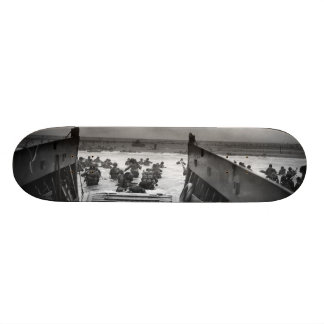 Into The Jaws Of Death LCVP World War II Omaha Skateboard Deck