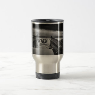 Into The Jaws Of Death LCVP World War II Omaha Travel Mug