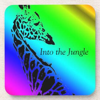 Into the Jungle (Giraffe)  ~ Coasters