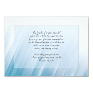 Into The Light Bereavement Card