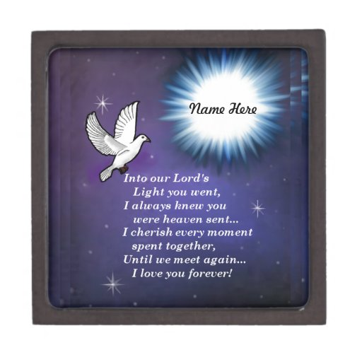 Into the Light Bird Keepsake Box