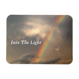 Into The Light (Blue Sky) Magnet