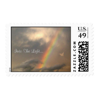 Into The Light (Blue Sky) Postage Stamps