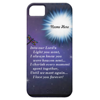 Into The Light Dragonfly iPhone SE/5/5s Case