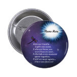 Into The Light Dragonfly Pinback Button