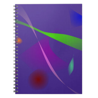 Into the Light Purple Notebook