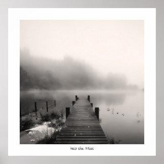 Into the Mist - Loch Ard Poster