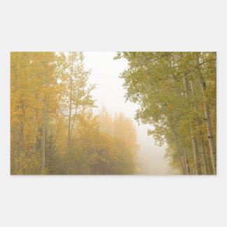 Into The Mist Rectangular Sticker