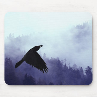 INTO THE MYSTIC Crow & Forest Mouse Mats
