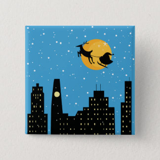 Into the Night Pinback Button