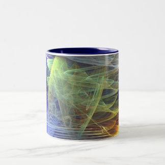 into the ocean Two-Tone coffee mug
