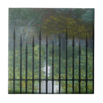 Into the Old Forest Decorative Tile