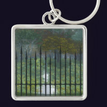 Into the Old Forest Keychain