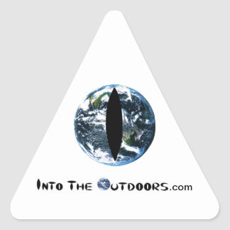 Into The Outdoors Logo Triangle Sticker