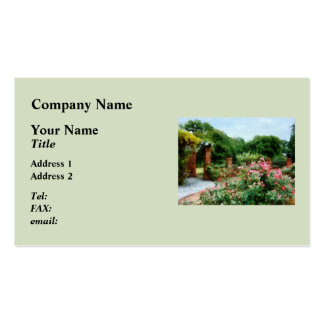 Into the Rose Garden Double-Sided Standard Business Cards (Pack Of 100)