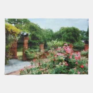 Into the Rose Garden Hand Towel