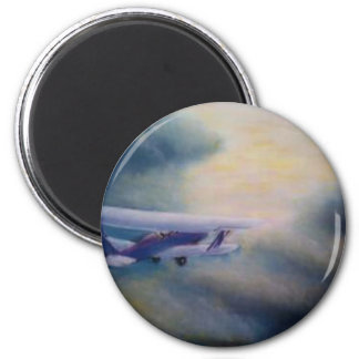 Into the Sunset 2 Inch Round Magnet