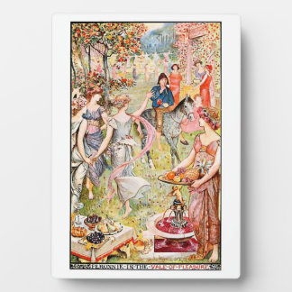 Into the Vale of Pleasure - Fairytale Display Plaque