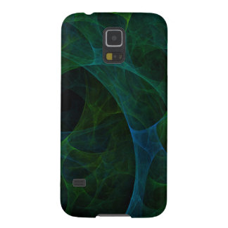 Into The Void Green Galaxy S5 Cover